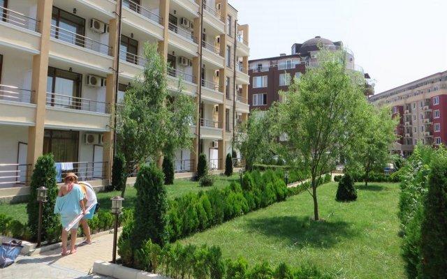 Отель Saint Elena Apartcomplex Солнечный берег вид на фасад