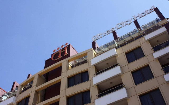Olives City Hotel вид на фасад
