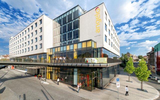 Отель Vienna House Easy Pilsen Чехия, Пльзень - 3 отзыва об отеле, цены и фото номеров - забронировать отель Vienna House Easy Pilsen онлайн вид на фасад