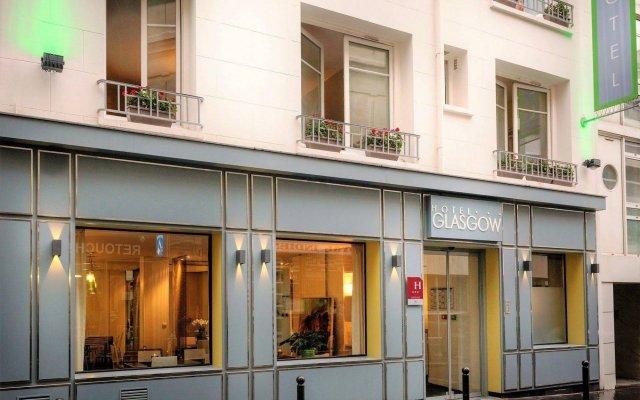 Hotel Glasgow Monceau Paris by Patrick Hayat вид на фасад