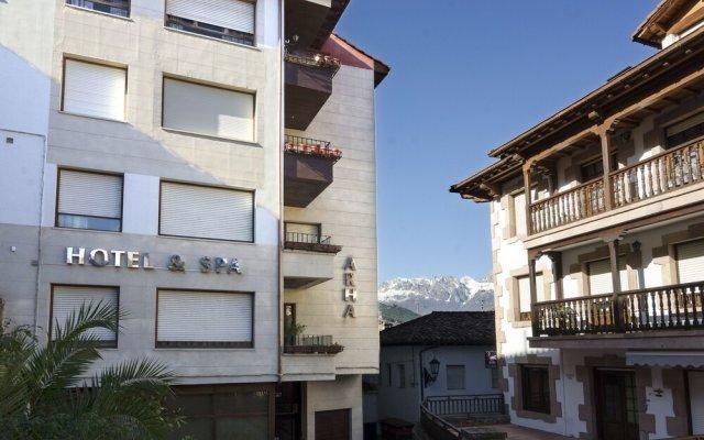 Arha Hotel & Spa вид на фасад