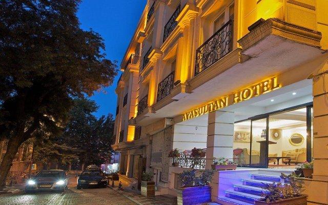 Ayasultan Hotel вид на фасад