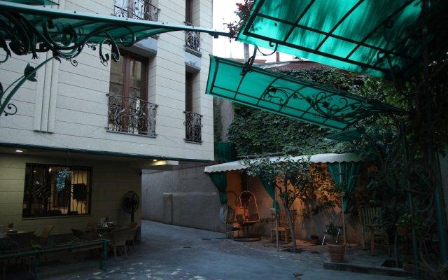 Daniel Boutique Hotel вид на фасад