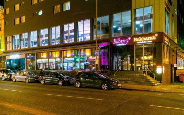Отель Lorne Hotel Великобритания, Глазго - отзывы, цены и фото номеров - забронировать отель Lorne Hotel онлайн вид на фасад