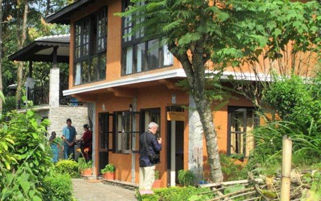 Отель The Begnas Lake Resort & Villas Непал, Лехнат - отзывы, цены и фото номеров - забронировать отель The Begnas Lake Resort & Villas онлайн вид на фасад