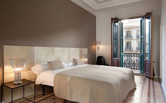 Апартаменты Rent Top Apartments Rambla Catalunya Барселона комната для гостей