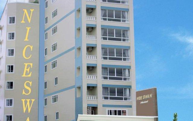 Отель Nice Swan Hotel Вьетнам, Нячанг - 8 отзывов об отеле, цены и фото номеров - забронировать отель Nice Swan Hotel онлайн вид на фасад