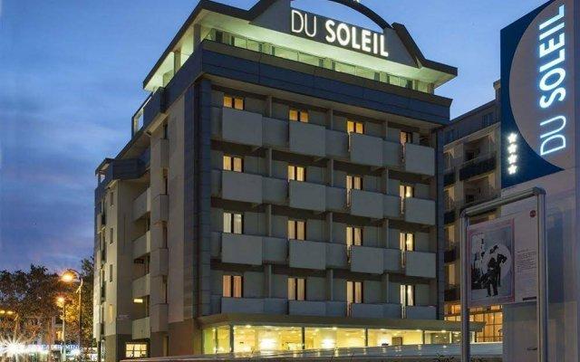 Hotel Du Soleil вид на фасад