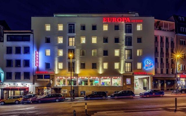 Отель CityClass Hotel Europa am Dom Германия, Кёльн - 1 отзыв об отеле, цены и фото номеров - забронировать отель CityClass Hotel Europa am Dom онлайн вид на фасад