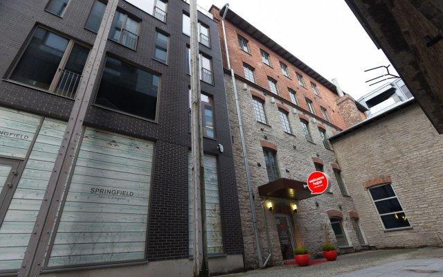 Welcome Hostel Rotermann вид на фасад