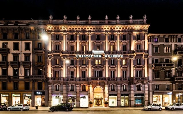 Отель Worldhotel Cristoforo Colombo Милан вид на фасад