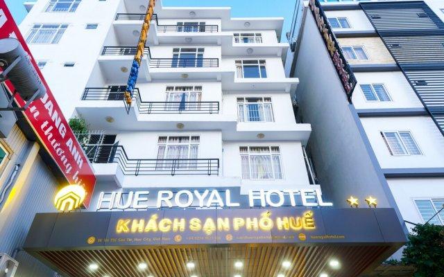 Отель Pho Hue Вьетнам, Хюэ - отзывы, цены и фото номеров - забронировать отель Pho Hue онлайн вид на фасад