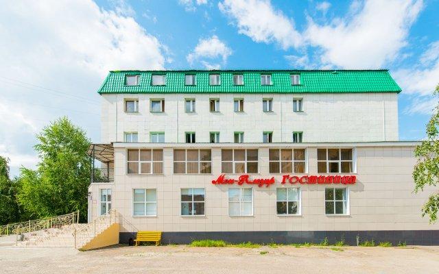 Отель Мон Плезир Казань вид на фасад