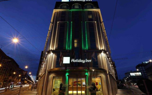 Отель Holiday Inn Milan - Garibaldi Station вид на фасад