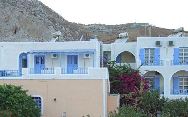Отель Esperides Hotel Греция, Остров Санторини - отзывы, цены и фото номеров - забронировать отель Esperides Hotel онлайн вид на фасад