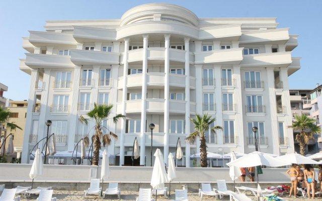 Palace Hotel And Spa Дуррес вид на фасад