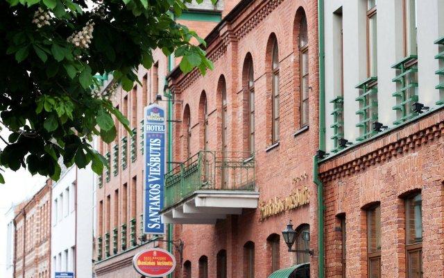 Best Western Santakos Hotel in Kaunas, Lithuania from 93$, photos, reviews - zenhotels.com hotel front