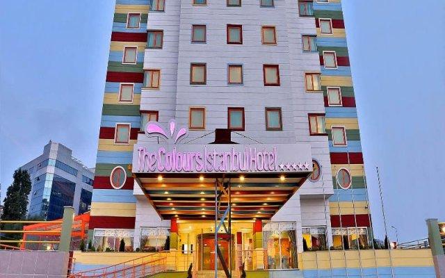 Отель QUA Стамбул вид на фасад
