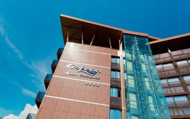Отель Galeon Residence & SPA Солнечный берег вид на фасад