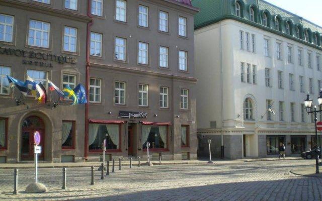 Отель Romeo Family Apartments Эстония, Таллин - отзывы, цены и фото номеров - забронировать отель Romeo Family Apartments онлайн вид на фасад