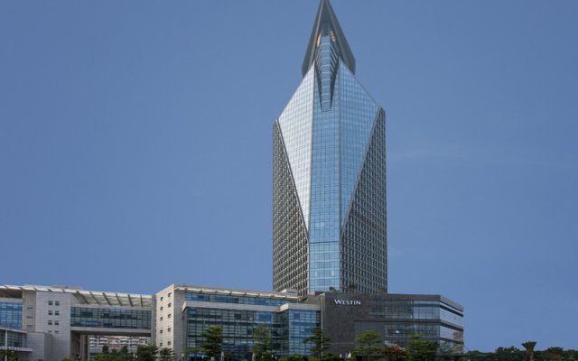 Westin Xiamen Hotel вид на фасад