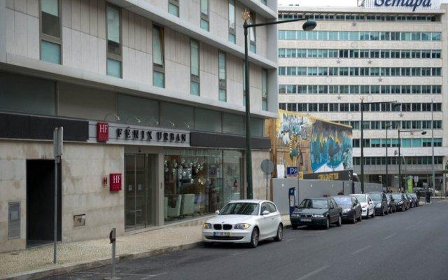 Отель HF Fenix Urban вид на фасад