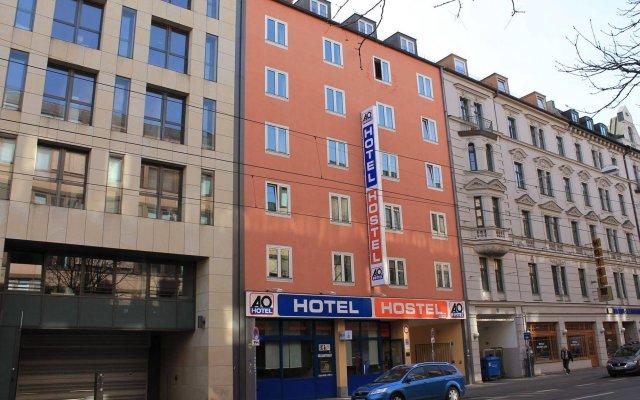 Отель A&O München Hauptbahnhof Германия, Мюнхен - - забронировать отель A&O München Hauptbahnhof, цены и фото номеров вид на фасад