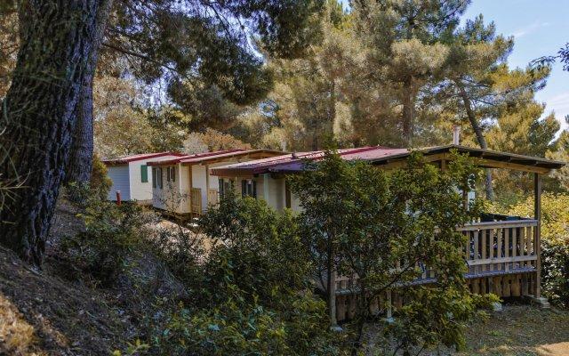 Отель Camping Le Pianacce Кастаньето-Кардуччи вид на фасад