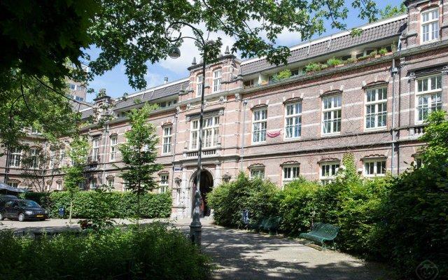 Отель Oud-West Area Apartments Нидерланды, Амстердам - отзывы, цены и фото номеров - забронировать отель Oud-West Area Apartments онлайн вид на фасад