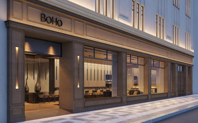 Отель BoHo Prague вид на фасад