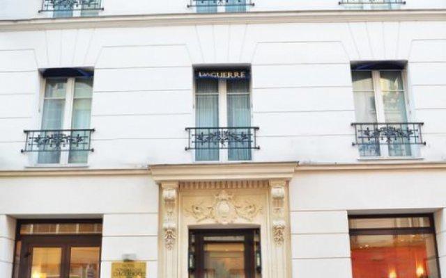Hotel Montparnasse Daguerre вид на фасад