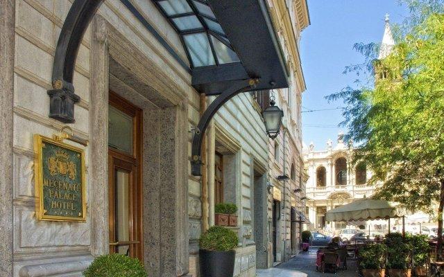 Hotel Mecenate Palace вид на фасад
