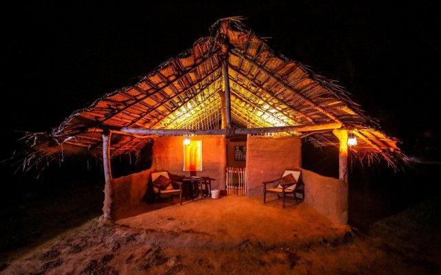 Отель Yakaduru Safari Village Yala вид на фасад