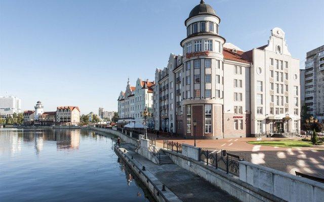 Гостиница Кайзерхоф (Kaiserhof) в Калининграде - забронировать гостиницу Кайзерхоф (Kaiserhof), цены и фото номеров Калининград вид на фасад