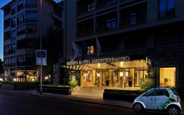 FH55 Grand Hotel Mediterraneo вид на фасад
