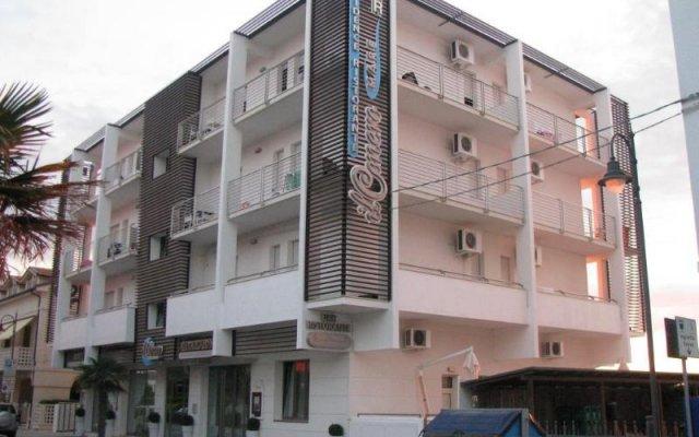 Отель Il Conero Mare Residence Нумана вид на фасад