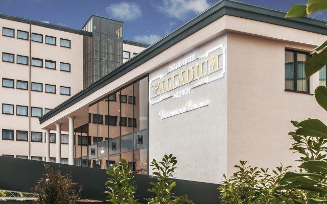 Grand Hotel Palladium Munich Мюнхен вид на фасад