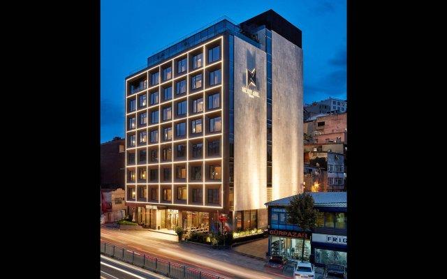 Naz City Hotel Taksim вид на фасад