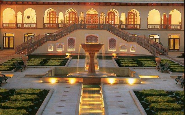 Отель Rambagh Palace вид на фасад