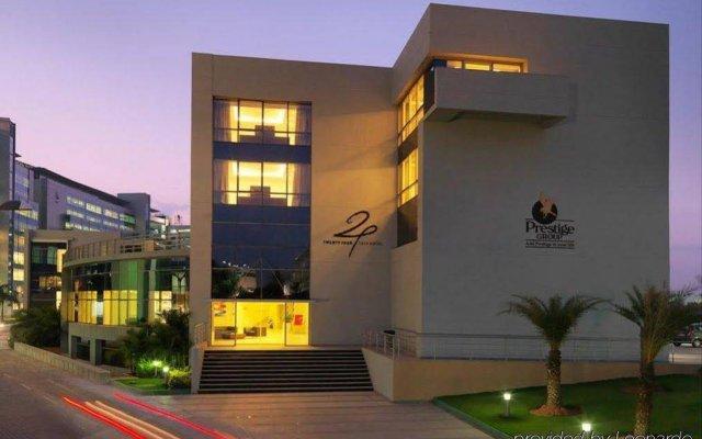 24 Tech Hotel вид на фасад