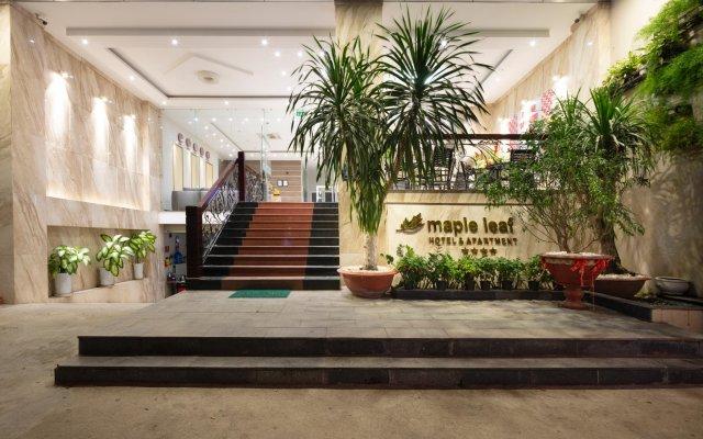 Maple Leaf Hotel & Apartment Нячанг вид на фасад