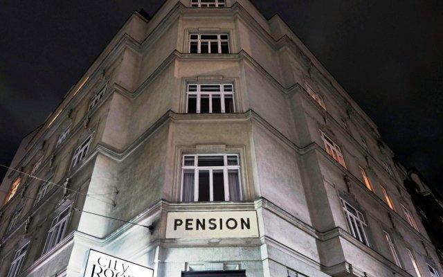 Отель City Rooms вид на фасад