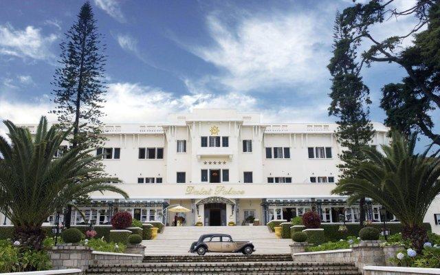 Отель Dalat Palace Далат вид на фасад