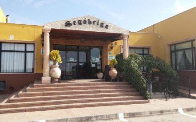 Отель Restaurante Segobriga Испания, Саэлисес - отзывы, цены и фото номеров - забронировать отель Restaurante Segobriga онлайн вид на фасад