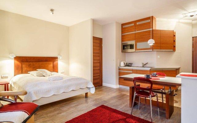 Отель Apartamenty Pod Skocznią Закопане комната для гостей