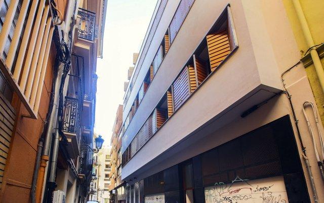 Отель Total Valencia Vitoria Испания, Валенсия - отзывы, цены и фото номеров - забронировать отель Total Valencia Vitoria онлайн вид на фасад