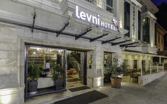 Levni Hotel & Spa вид на фасад