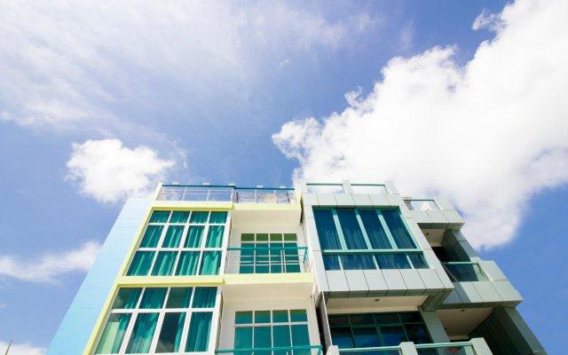 Отель The Aquzz Мальдивы, Мале - отзывы, цены и фото номеров - забронировать отель The Aquzz онлайн вид на фасад