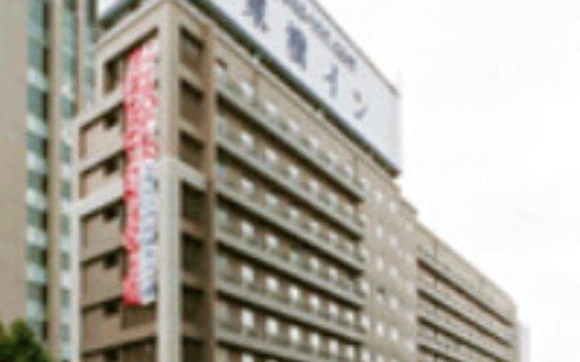 Отель Toyoko Inn Tokyo Monzen-Nakacho Eitaibashi вид на фасад