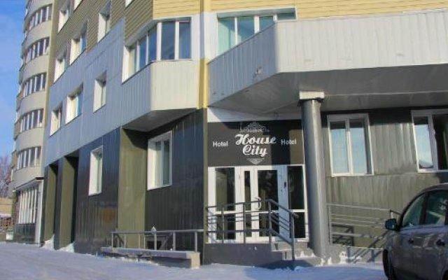 Гостиница House City в Барнауле 1 отзыв об отеле, цены и фото номеров - забронировать гостиницу House City онлайн Барнаул вид на фасад